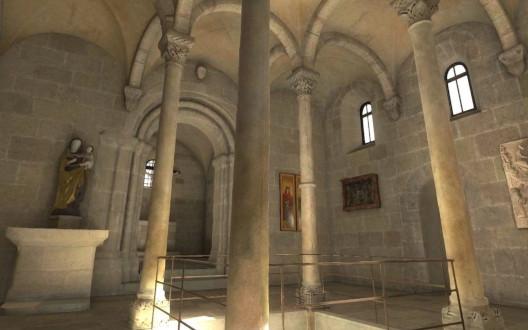 Digitalisierte Doppelkapelle der Kaiserburg Nürnberg