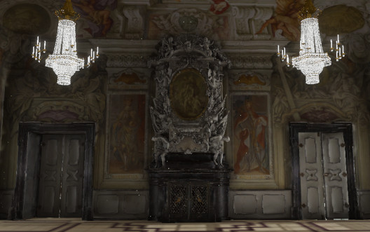 Residenz Bamberg Kaisersaal in virtueller Realität