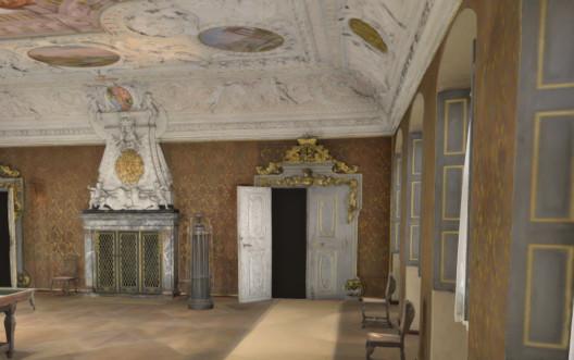 Residenz Bamberg Prinzessin Saal in VR