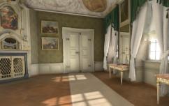 Das erste Zimmer der Residenz Bamberg in Virtual Reality