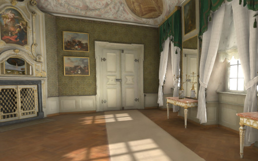 Residenz Bamberg Zimmer 01 in virtual Reality