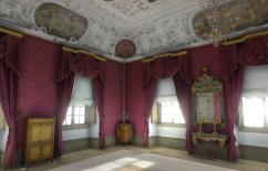 3D-Simulation des dritten Zimmers der Residenz Bamberg