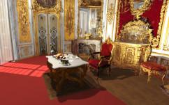 Speisezimmer im Schloss Linderhof in VR