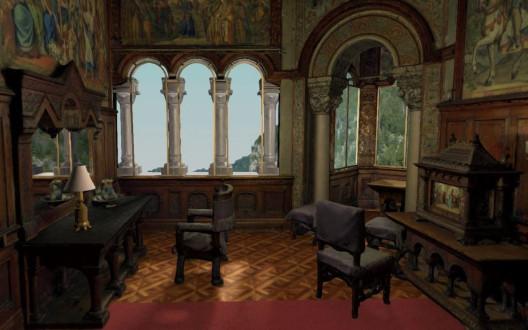 VR Version vom Ankleidezimmer Schloss Neuschwanstein