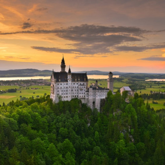 Digitales Schloss Neuschwanstein
