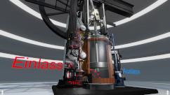 Erläuterung einer Dampfmaschine in VR